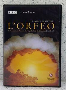 MONTEVERDI L'Orfeo (DVD, 2009) Jordi Savall Le Concert des Nations
