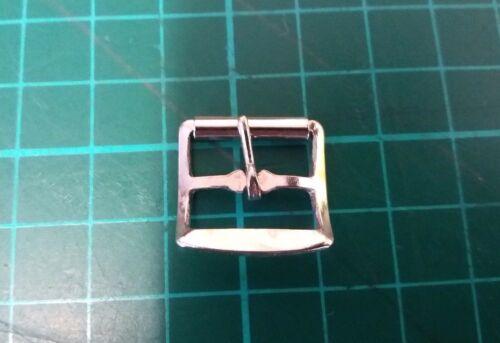 10 x  metal buckle single prong shoe bkl// saddler leather craft belt strap15MM/>/>
