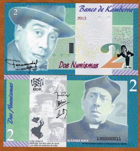 Kingdom 2013 Kamberra UNC /> Fernandel 2 Numismas