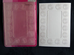 Crafts-Too-CTFD3049-C6-Embossing-Folder-Daisy-Frame
