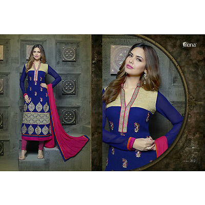 Indian Designer nice esha Semi Stitches Straight Cut Salwar Suit 312