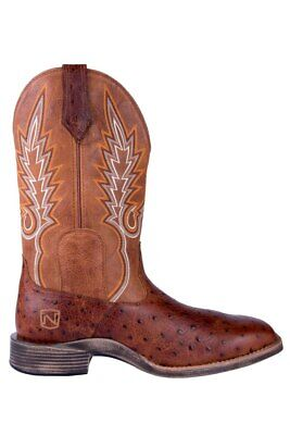 Noble N65020-135 Mens Oak Rare All-Around Square Toe Boot FAST FREE USA SHIPPING