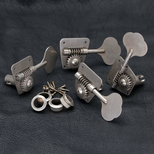 GOTOH FB30 RELIC 4 In-Line Bass Tuners for Vintage Fender NEW AGED NICKEL
