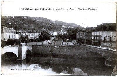 (s-103707) France - 12 - Villefranche De Rouergue Cpa