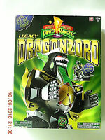 Ban Dai Power Rangers Legacy Green Dragonzord Action Figure Unopened