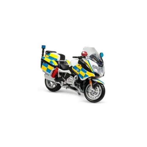 Maisto Moto 1:18 BMW R 1200 RT Police Blanc