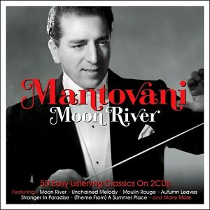 MANTOVANI-50-Greatest-Hits-NEW-2-CD-SET-All-Original-Instrumentals