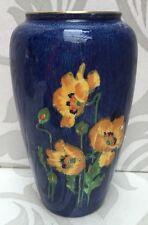 Lovely Early Royal Winton Art Deco Lustre Vase Poppies Poppy Design Grimwades