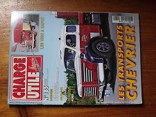$$v Revue Charge Utile magazine N°185 Chevrier  Unic  Pompiers 24h du Mans