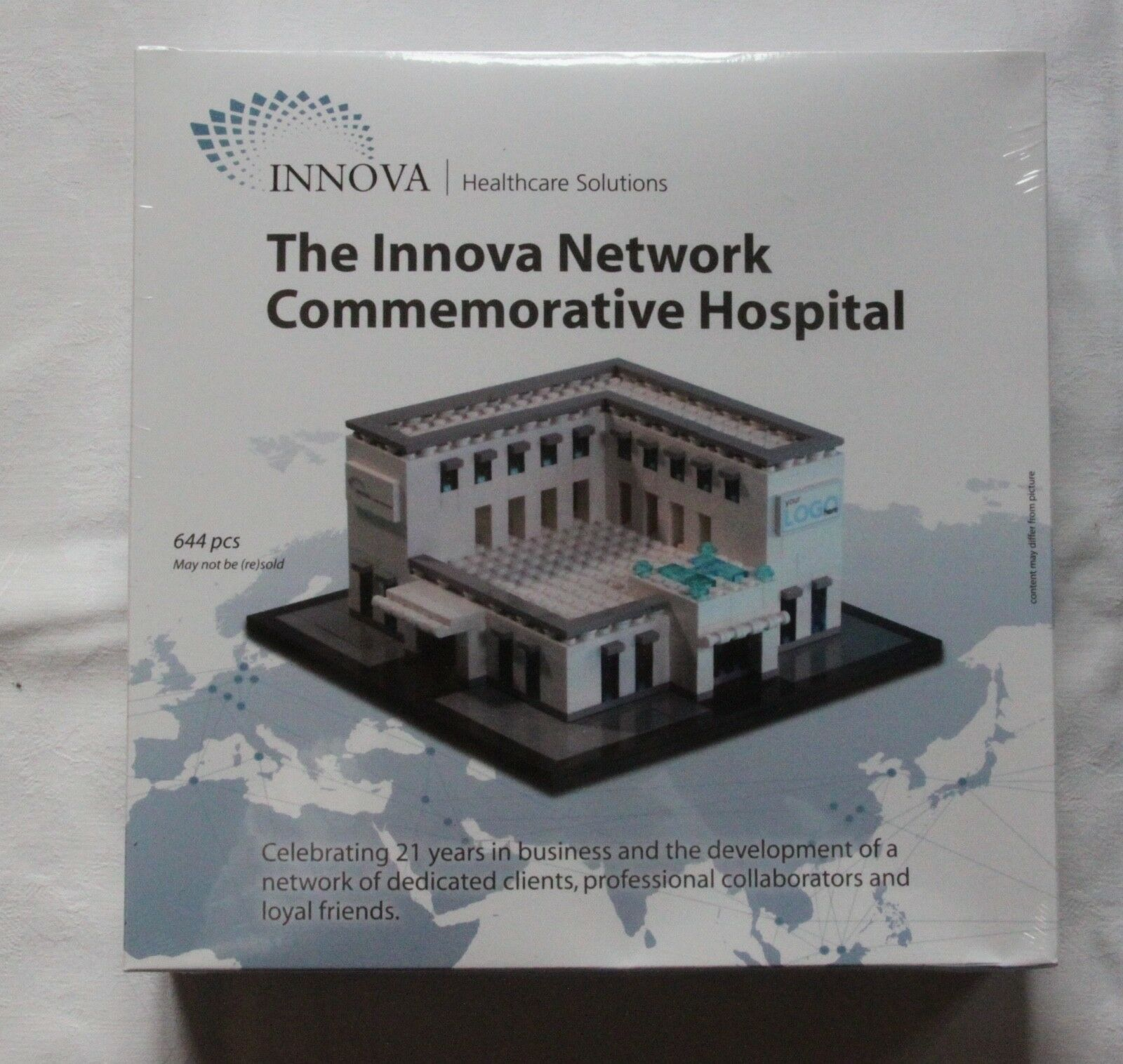 LEGO Innova Hospital Certified Professional sehr seltene limitierte Edition