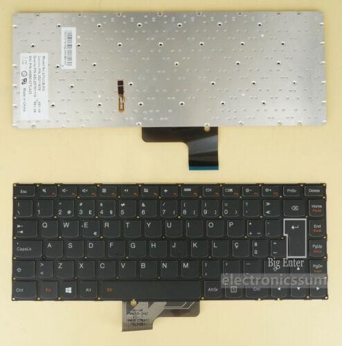 Backlit Portuguese PO Keyboard for Lenovo U330 U330P 25211676 25211737 25211615