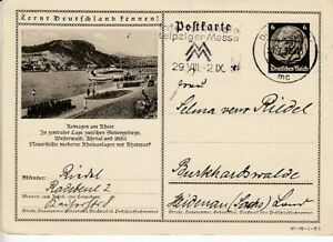 German-Reich-Stationery-P-236-Remagen-At-Rhein-Oo