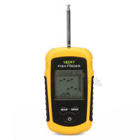 Wireless Sonar Fish Fishing Finder Portable Alarm 40m/130ft Depth Ocean River