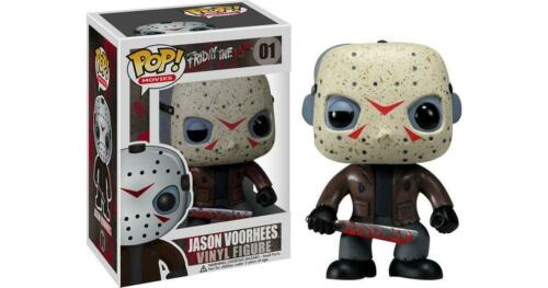 NEW OFFICIAL FUNKO POP MOVIES FRIDAY THE 13TH JASON VORHEES #01 VINYL FIGURE
