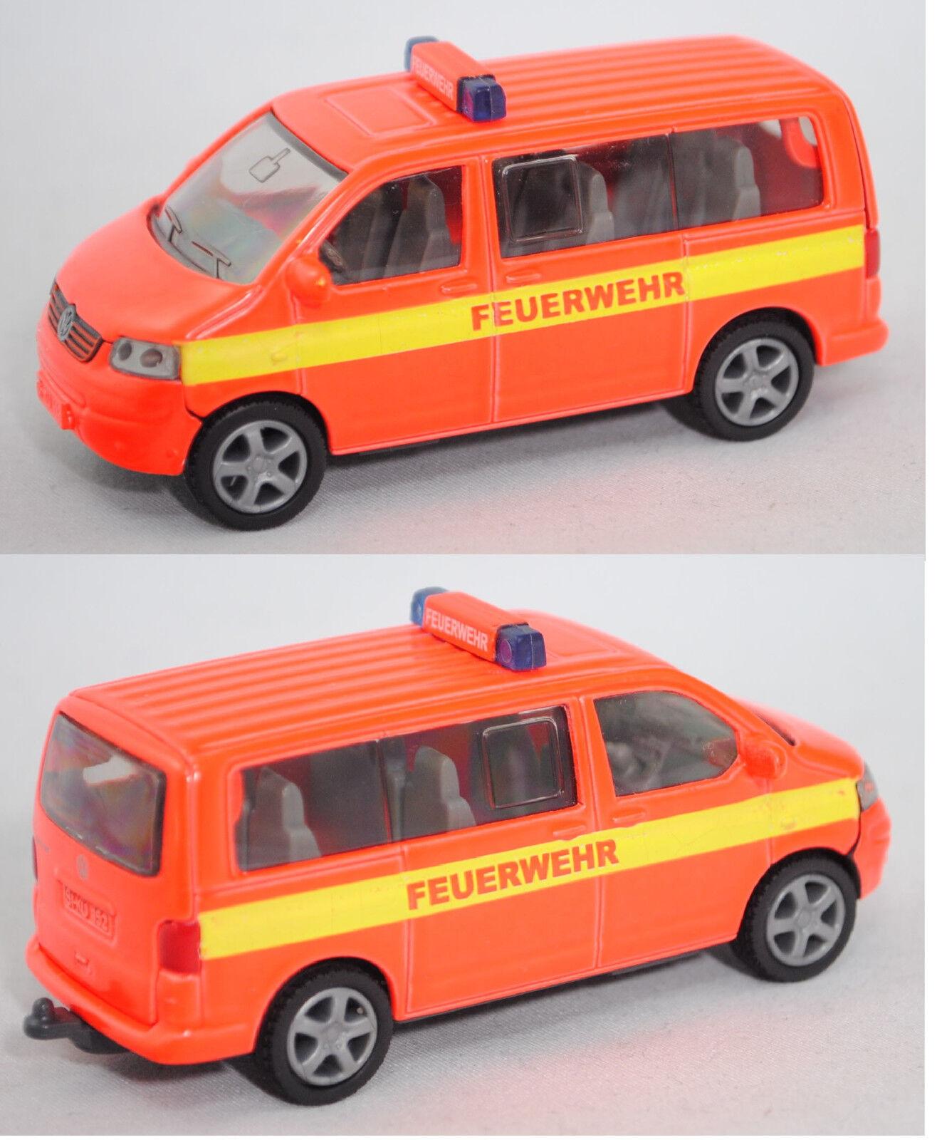 Siku Super 1070 VW t5 Multivan vigili del fuoco-einsatzleitwagen pubblicitari sikumuseum modello