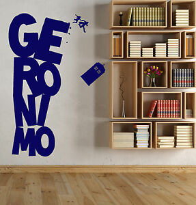 Perfect Image Is Loading Vinyl Wall Decal Cinema Doctor Who Series Tardis