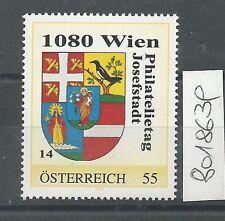 Österreich PM personalisierte Marke Philatelietag 1080 WIEN 8018639 **