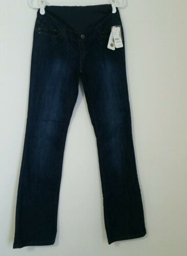 MSRP $69.00 THYME WOMEN/'S MATERNITY JEANS LIGHTWEIGHT FLARED SIZES S//P AND XS//TP