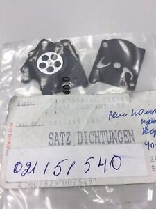 021151540 Set Joints Diaphragme Ps-109 Dolmar Makita Walbro Ps-109 111 115 43 52-afficher Le Titre D'origine