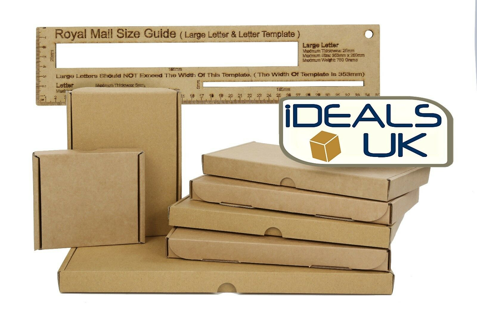 Royal Mail PiP Large Letter Size Cardboard Postal Mailing PiP Box- MULTI-LISTING