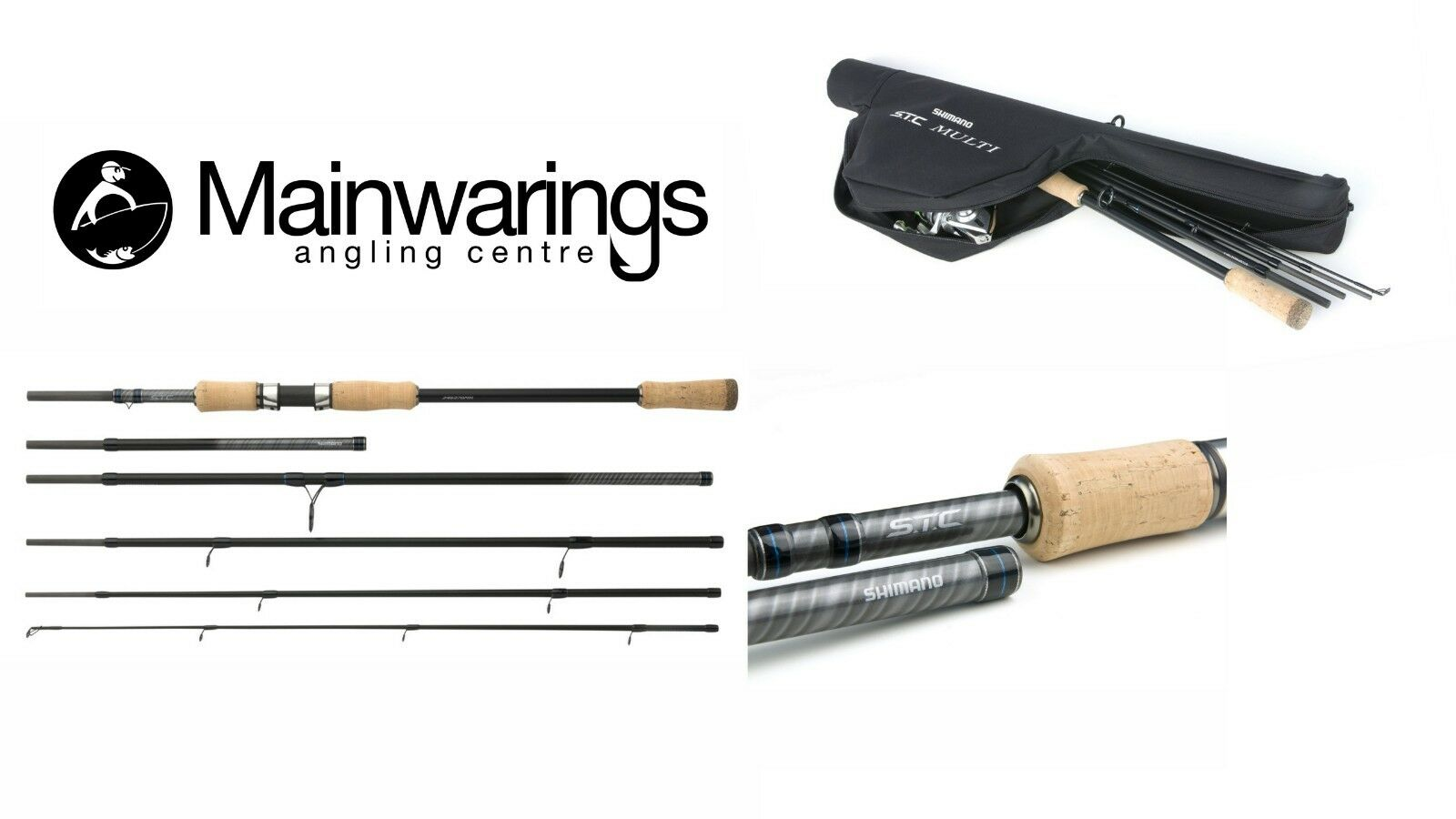 SHIMANO STC MULTI SPIN TRAVEL RODS - NEW 2019 MODELS