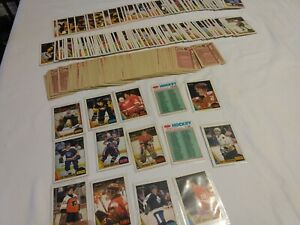 OLD-1987-88-COMPLETE-SET-OPC-264-264-HOCKEY-CARDS