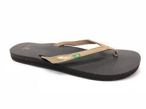 eb50b5ad18a8 Sanuk Yoga Joy Metallic Rose Gold Flip- Flops Women s Sandals ...