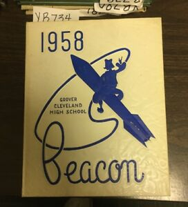 Details About Yb734 St Louis Missouri Mo Grover Cleveland High School 1958 Yearbook The Beacon