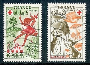 STAMP-TIMBRE-FRANCE-OBLITERE-N-1860-1861-CROIX-ROUGE-SAISONS