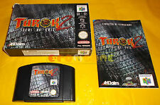 TUROK 2 SEEDS OF EVIL Nintendo 64 N64 PAL Versione Italiana ○○○○○ COMPLETO