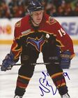 Nelson Emerson signed Atlanta Thrashers 8x10 photo autographed
