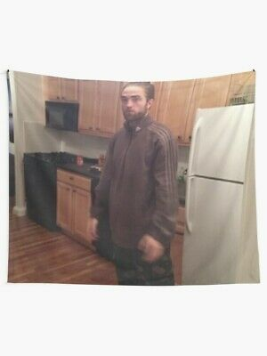 Robert Pattinson Standing Meme Wall Tapestry | eBay