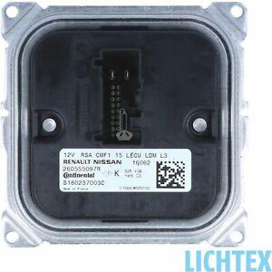 Continental-S180237003C-LED-Scheinwerfer-Steuergeraet-fuer-Renault-260555097R