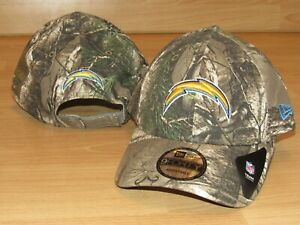 cheap for discount e9474 d0c08 Image is loading Los-Angeles-Chargers-New-Era-9Forty-Realtree-Camo-