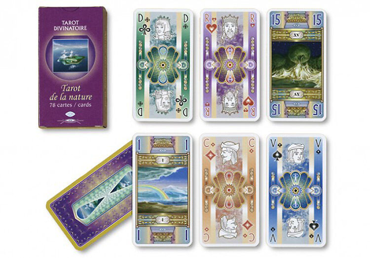 TAred TAred DE THE NATURE 78 Cards Editions FRANCE CARTES