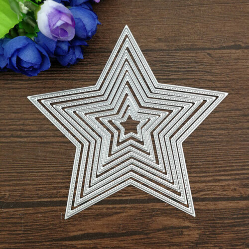 8pcs//set  Basic Stars Cutting Dies Carbon steel Metal Cutting Dies Scrapbooking