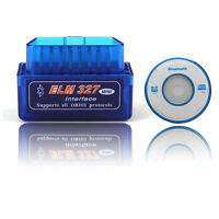 OBD2 OBD-II Bluetooth Car Scanner ELM327 v2.1 Super Mini Adapter Android Torque