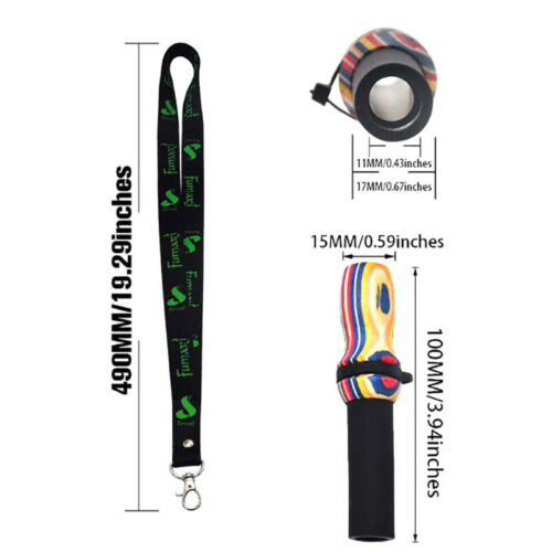 Hang Rope Strap Hookah Mouthpieces Shisha Silicone /& Wood Mouth Tip Hookah PK