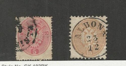 Austria, Postage Stamp, #19, 26 Used, 186364 Albona Cancel