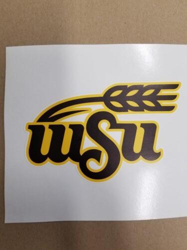 WS5 Wichita State Shockers Cornhole board or vehicle window decal s