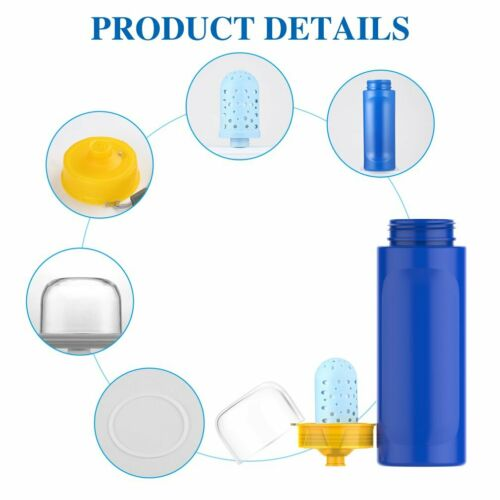 Camping PE//PP Water Filt Bottle Cup For Outdoor Drinking Water Filtration Device