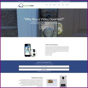 VIDEO-DOORBELL-Website-Business-For-Sale-Earn-85-36-A-SALE-FREE-Domain-HOSTING