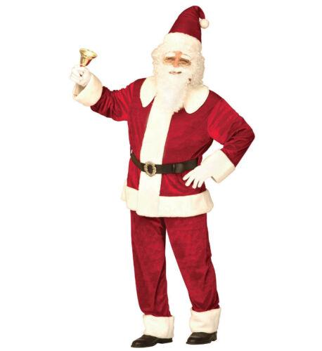 Costume Natalizio Vestito Da Babbo Natale Lusso PS 01379