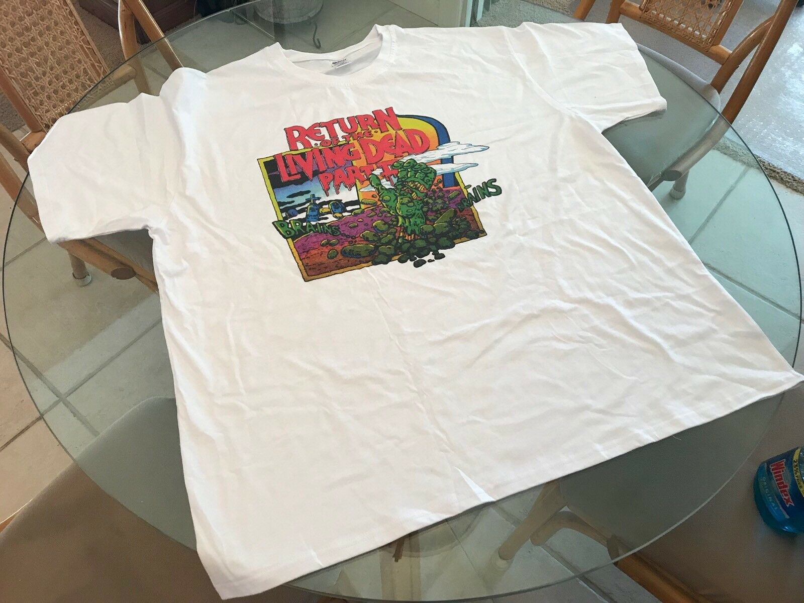 Return Of The Living Dead Part II 2XL T-Shirt  (See) Dawn Of The Dead Halloween