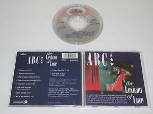Abc / the Lexicon of Love (Mercury 810 003-2) CD Album