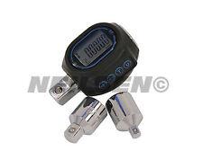 Digital Torque Adaptor Set -  convert power bar or ratchet to torque wrench
