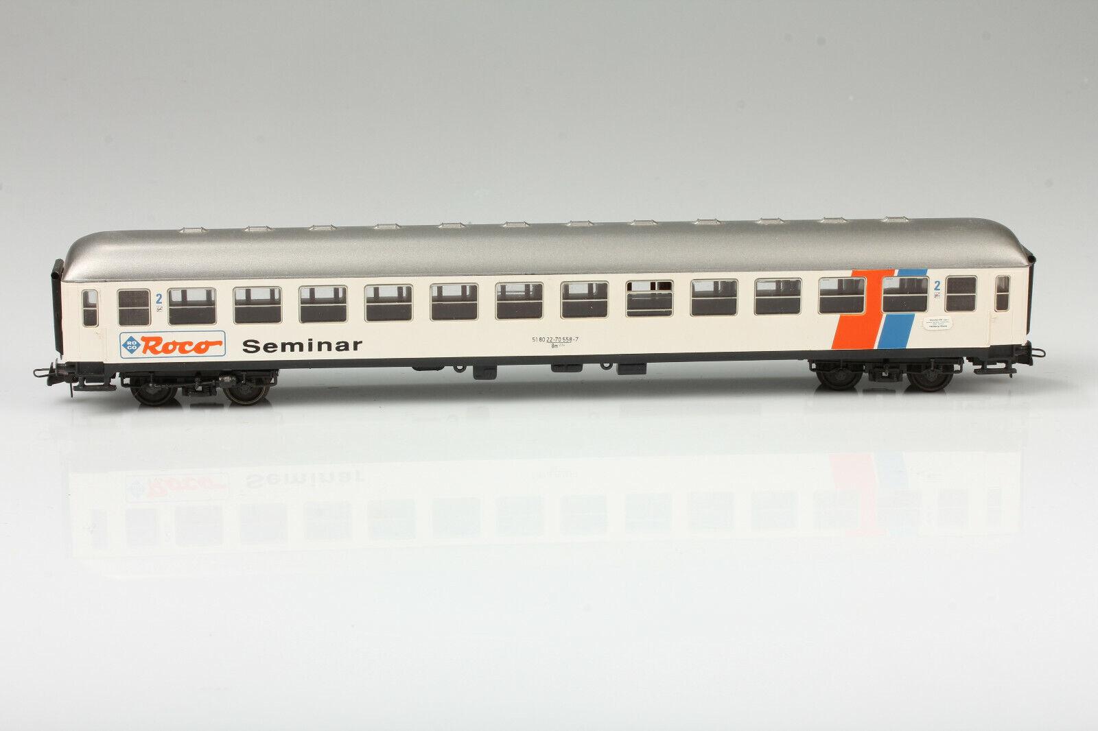H0 Roco Seminar Personenwagen 518022-70 558-7 München Hbf Schmutz Kratzer o. OVP