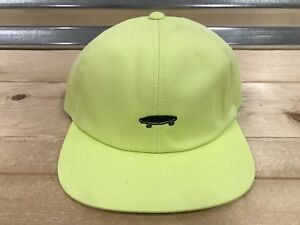 Vans Salton II 2 Retro Jockey Skateboard Hat Sunny Lime Yellow ... b8332b943a8
