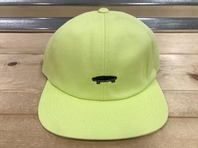 543902c7bb3 Vans Salton II 2 Retro Jockey Skateboard Hat Sunny Lime Yellow (  VN000YXKTCY )