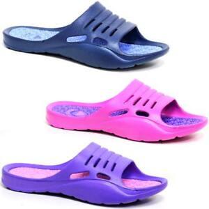 31fbfb9b4 New Ladies Womens Flip Flops beach summer Walking eva Sandals surf ...